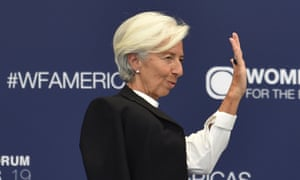 Christine Lagarde, the IMF's managing director