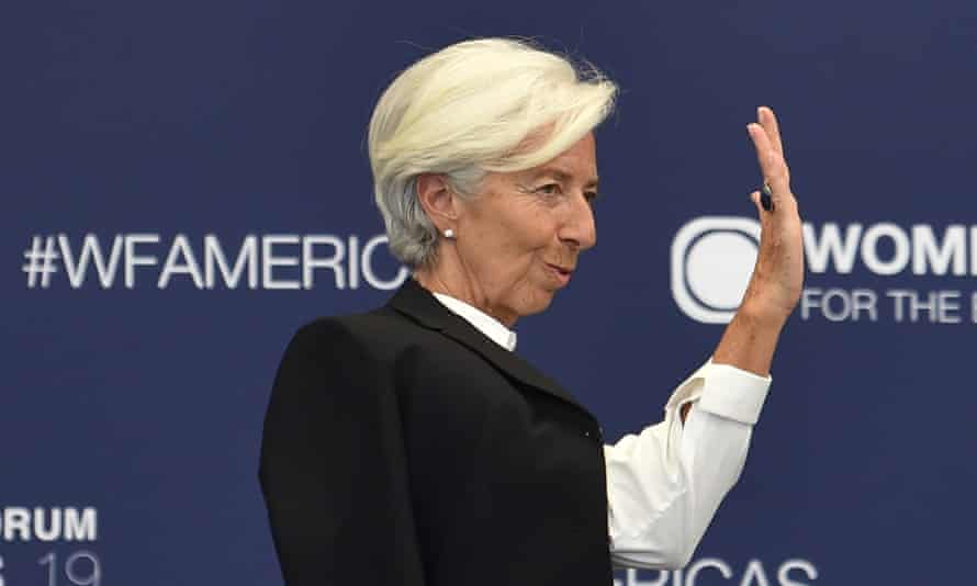 Christine Lagarde, the IMF's managing director