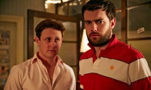 JP, played by Jack Whitehall, with friend Tomithy in Fresh Meat series 4.