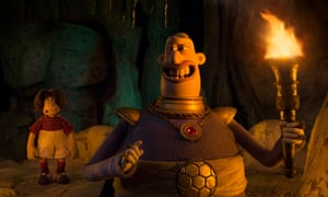 Wacky … Lord Nooth, voiced by Tom Hiddleston.