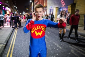 A superhero called Willy answers a call for help