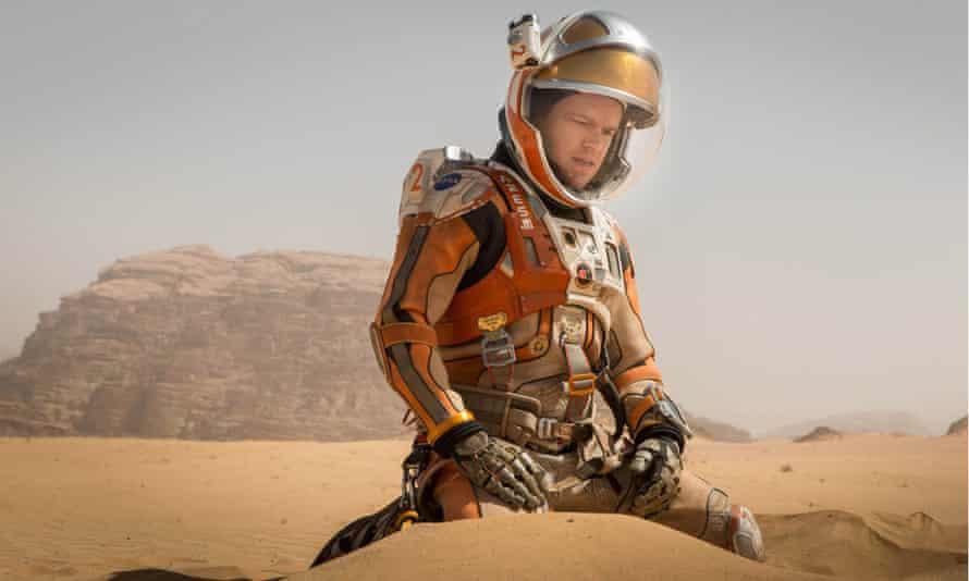 Matt Damon The Martian.