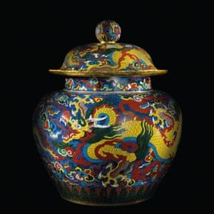 A Ming jar.