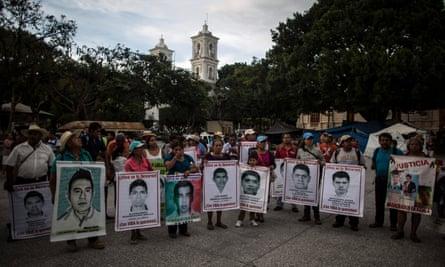 mexico bush ambush missing students