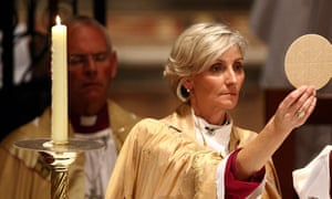 Archbishop Kay Goldsworthy says though 'the Anglican church's position is that in Australia marriage is between a man and a woman', she has an 'inclusive' approach.