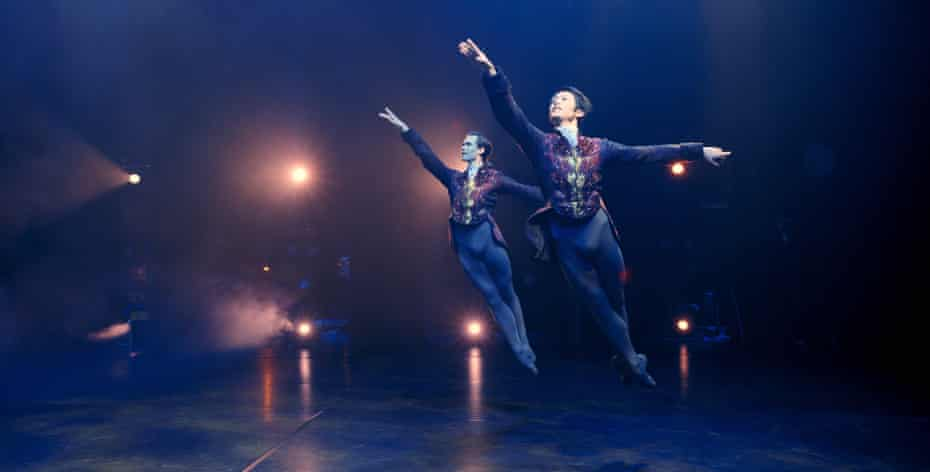 Dancers from Birmingham Royal Ballet perform in Acosta's Empty Stage film, now on YouTube.