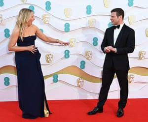 Edith Bowman and Dermot O'Leary ahead of their hosting stint.