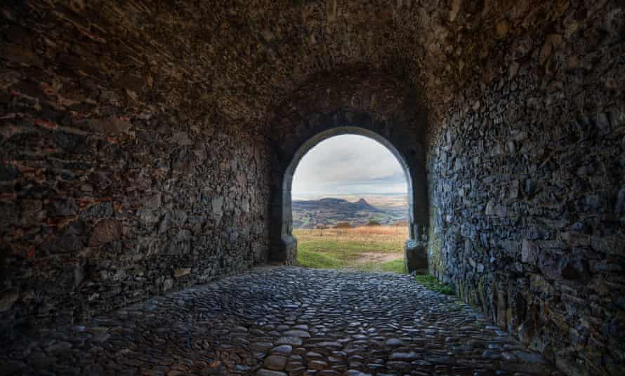 A view from a fortress in Germany