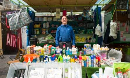 Sam Coe from Sam's Soho Supplies believes Soho is losing its 'quirkiness'.