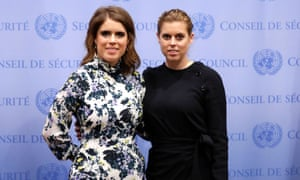Princess Eugenie and Princess Beatrice at the UN, New York