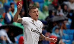 Real Madrid's Toni Kroos: Premier League-bound?
