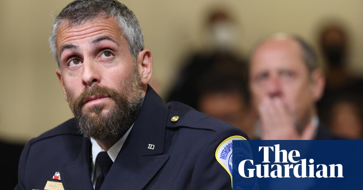 'I went to hell and back': officer condemns Republican lawmakers who spurned Capitol attack hearing