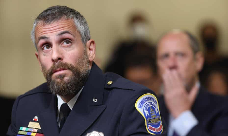 DC Metropolitan Police office Michael Fanone said he received a death threat after his Tuesday testimony.