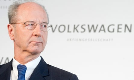 Hans Dieter Pötsch, chairman of the supervisory board of Volkswagen.