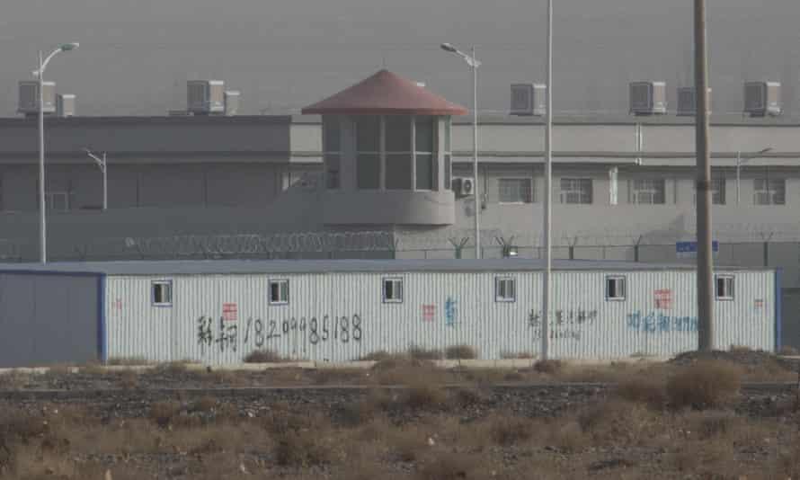 Kunshan Industrial Park in Artux in China's Xinjiang region.