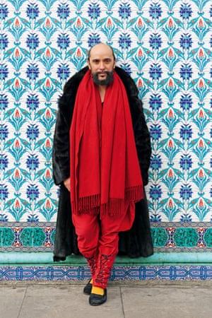 Lyall Hakaraia portrait from Voices: East London by Maryam Eisler.