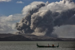 Tagaytay, Philippines The Taal volcano spews ash as it continues to erupt
