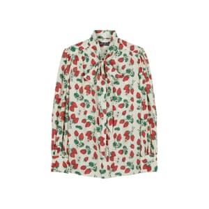 Strawberry pussybow, £275, tabithawebb.com