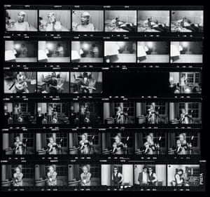 Blondie Parallel Lines phot shoot New York 1978