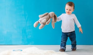 Tidy-up time: a rare chance for 'lazy parenting'.