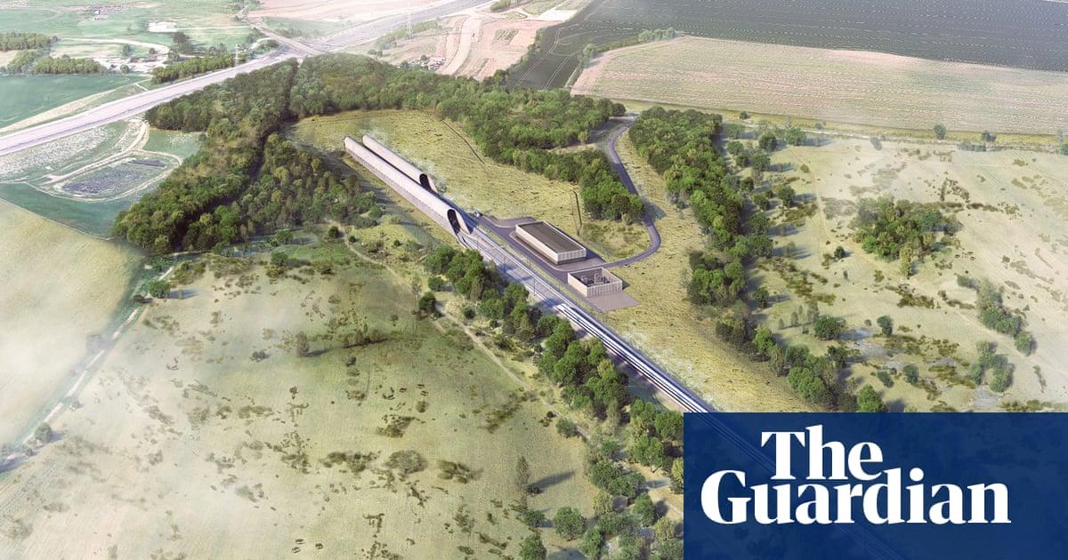 HS2 to 'rewild' 127 hectares around its 10-mile Chilterns tunnel