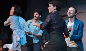 Dancers at Budapest's Lindy Shock.