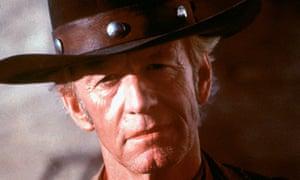 Australian actor Paul Hogan in Crocodile Dundee.