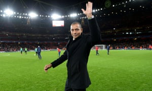 Gilberto Silva at the Emirates Stadium