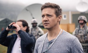 Flirtatious … Jeremy Renner as military scientist Ian Donnelly.