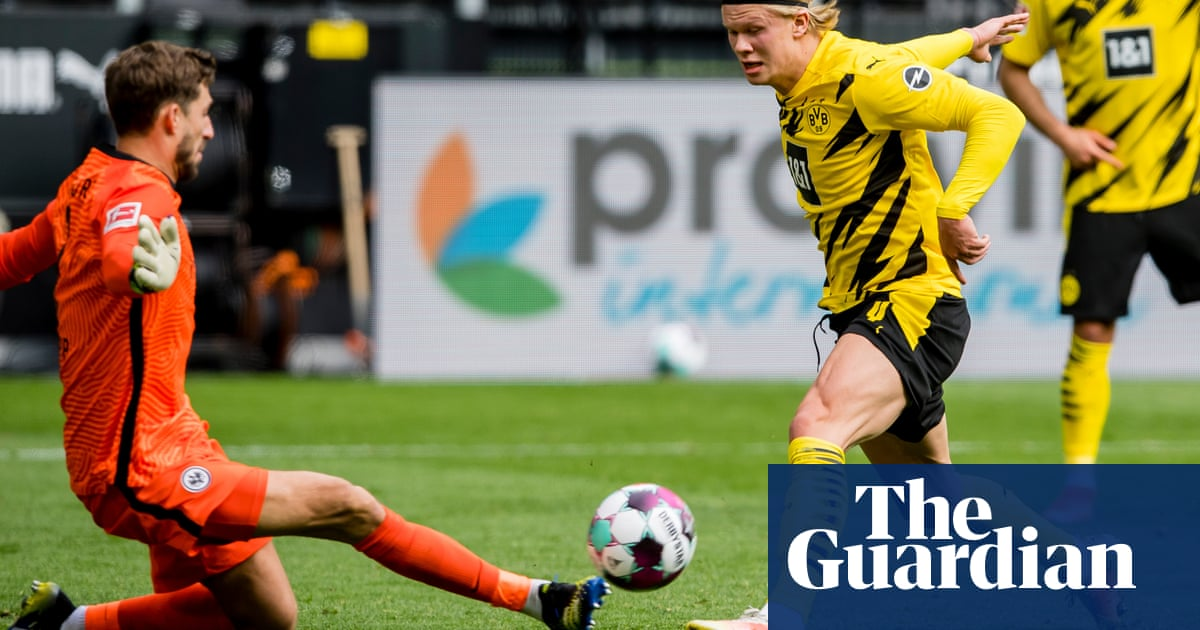 Pep Guardiola heaps praise on Erling Haaland and hints at City interest