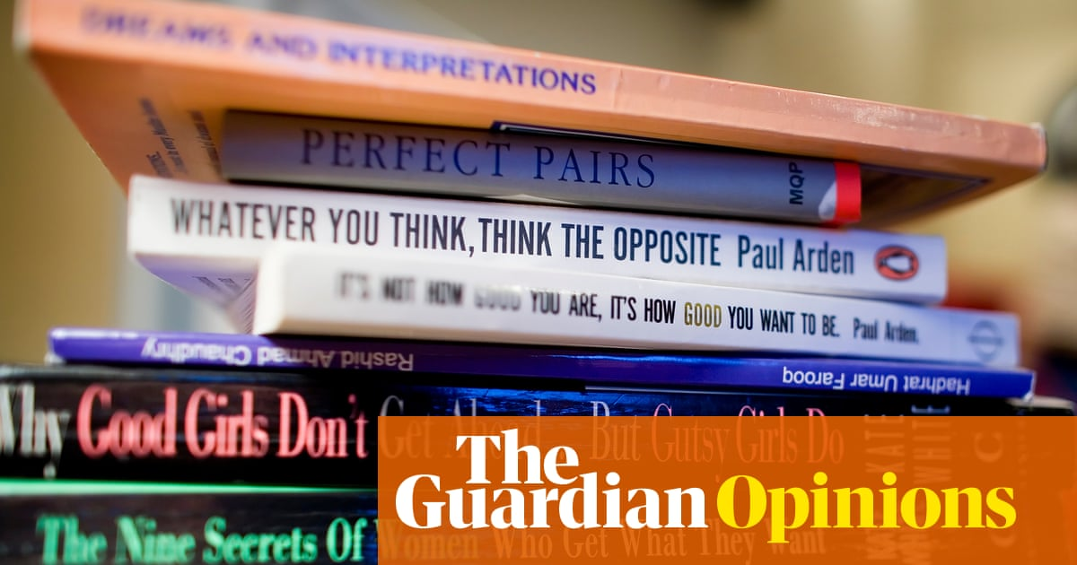 The best form of self-help is … a healthy dose of unhappiness | Tim Lott