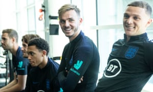 James Maddison looks too be enjoying his time with England at St George's Park and Gareth Southgate has earmarked him for a new role.