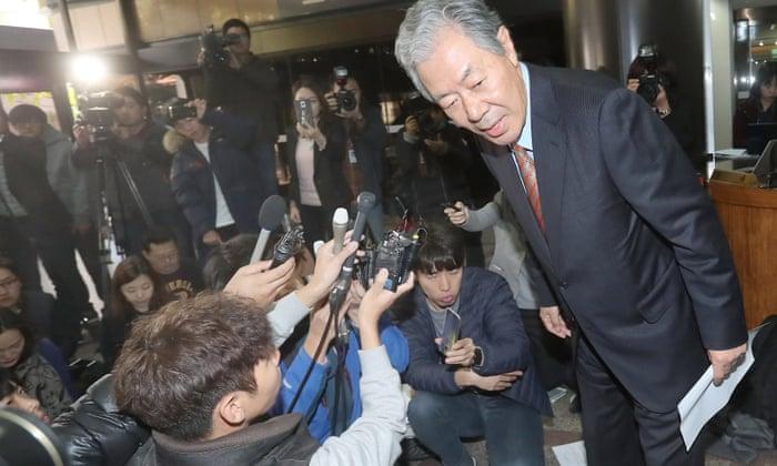 Rasputin-like' friend of South Korean president returns amid