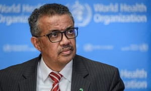 Le directeur général de l'OMS, Tedros Adhanom Ghebreyesus, se dit préoccupé par des niveaux alarmants d'inaction.