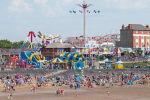 The beach at Whitmore Bay, Barry Island