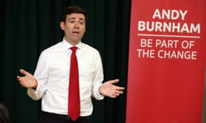 'Burnham will make sure the left wing of our party has a stronger voice than it's had in the past, but he won't do it at the cost of the next election.'