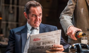 Bertie Carvel as the young Murdoch in James Graham's play Ink.