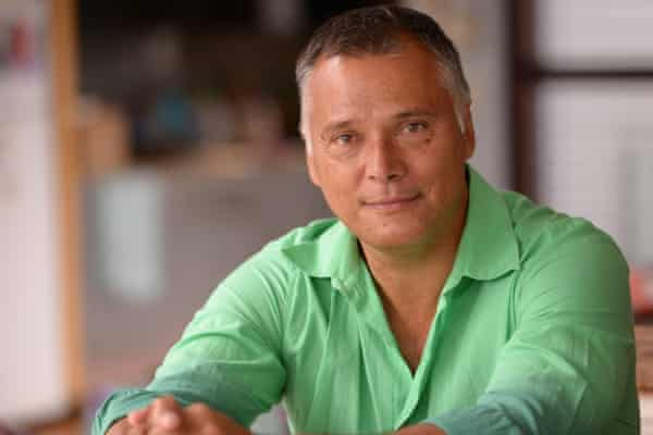 A profile shot of writer and TV presenter Stan Grant