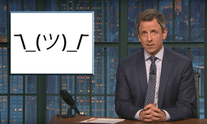 'Trump was in Florida over the weekend and, of course, at this point, we just take it for granted that Trump, who repeatedly bashed Obama for golfing, spent the weekend golfing'...Seth Meyers