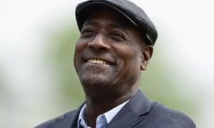 Former West Indies cricket star Sir Viv Richards.