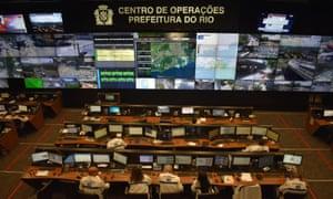 Rio de Janeiro operations centre