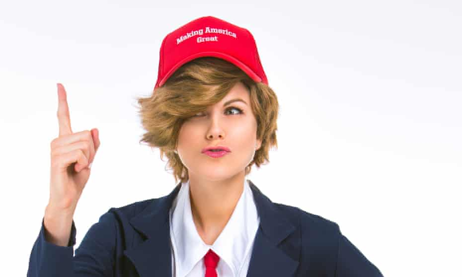 Trump costumes are not flying off the shelves.