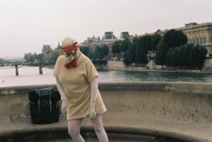Sheep street dancer, Paris It was a very early morning on a dreary day in Paris and then this happened Photograph: Dennis Thomas/GuardianWitness