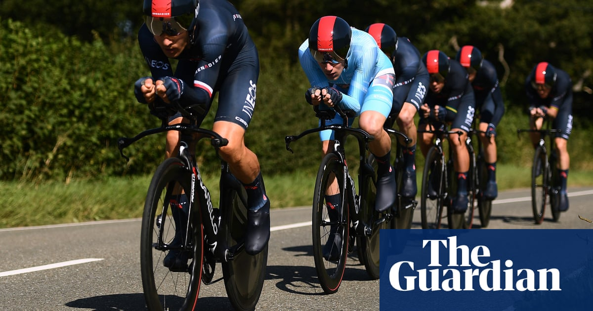 Ethan Hayter takes overall lead in Tour of Britain after Ineos win team time trial