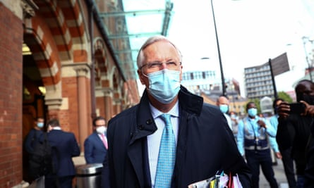 Michel Barnier, the EU chief negotiator, in London last week