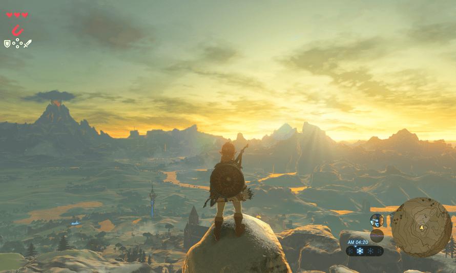 The Legend of Zelda - Breath of the Wild.