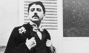Marcel Proust in the garden of Reynaldo Hahn.