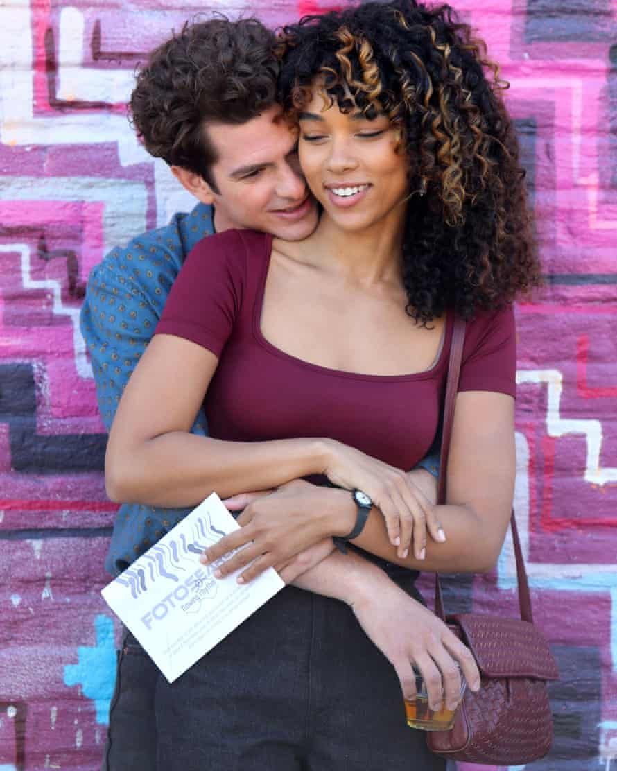 Andrew Garfield and Alexandra Shipp in a scene from the film adaptation of Tick Tick …Boom, which is coming to Netflix in the autumn.