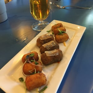 croquetas at balandro, Cadiz, Spain