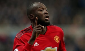 Romelu Lukaku joined Manchester United from Everton two years ago.